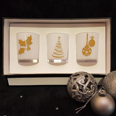 Gifts Actually - Yuletide Gift Box (White) - Soy Wax Candles by Amber Grove