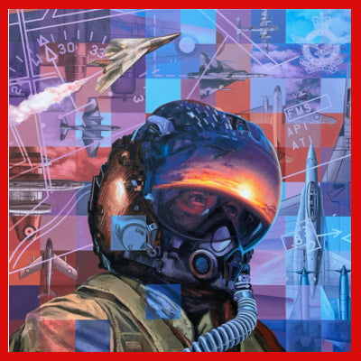 Gifts Actually - RAAF Centenary - Drew Harrison - Canvas Artwork - Centre