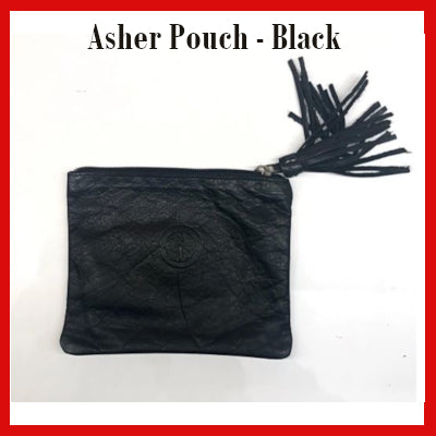 Gifts Actually - Indepal- Asher Pouch Mid - Black