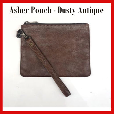 Gifts Actually - Indepal- Asher Pouch Mid - Dusty Anrique
