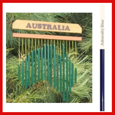 Gifts Actually - Harmony Wind chime - Australia Chime- Admiralty Blue
