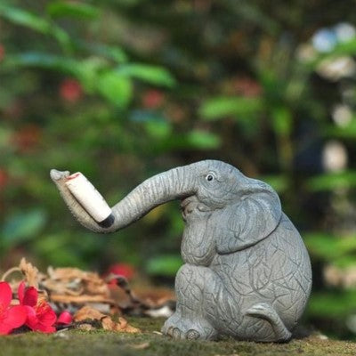 Gifts Actually - Barber the Elephant Reading a book
