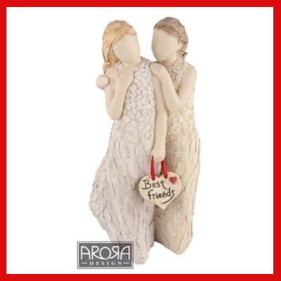 Gifts Actually - Words from the heart Figurine - Best Friends
