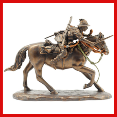 Gifts Actually - The Charge at Beersheba Light-Horse Figurine