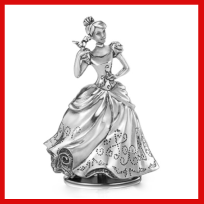 Gifts Actually - Royal Selangor Pewter- Cinderella Music Carousel