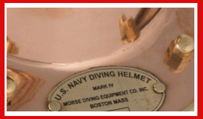Gifts Actually - Diving Helmet - (Deep sea - Mini)