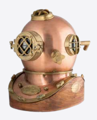 Gifts Actually - US Navy Diving Helmet - Mark V reproduction