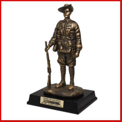 Gifts Actually - Australian Digger Figurine - Sons of Gallipoli (SOG)