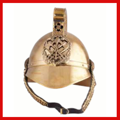 Gifts Actually - Fireman's Helmet - Royal Fire-brigade reproduction