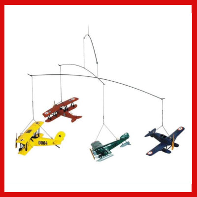 Gifts Actually - Flight Mobile, 1920 - Kids. Fun and Decorative