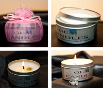 Gem Candles - Soy Wax Candle