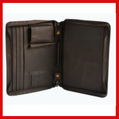 Gifts Actually - Indepal- Branson Leather Business Folder