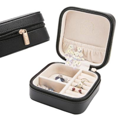 Gifts Actually - Leather look Travel Jewellery Box