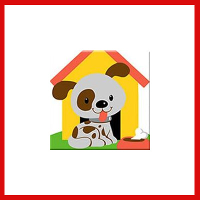 Gifts Actually - Paint By Numbers - Puppy (Kids DIY Paint kit)
