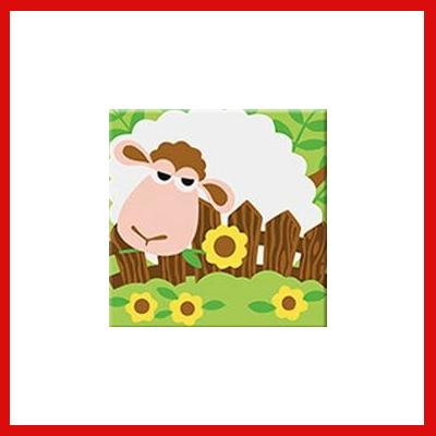 Gifts Actually - Paint By Numbers - Sheep (Kids DIY Paint kit)