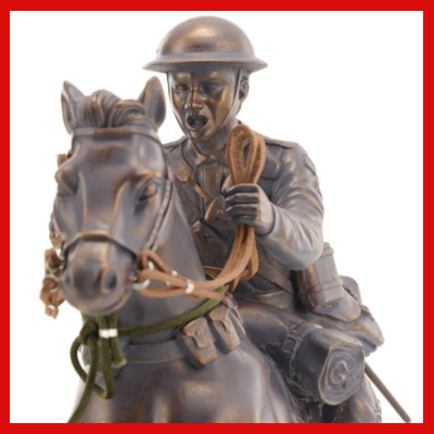 Gifts Actually - Australian Light Horse Figurine Leap of Faith