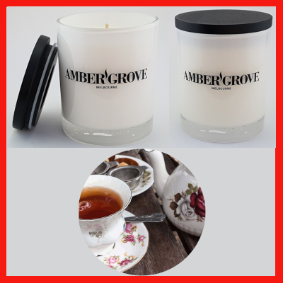 Gifts Actually - Amber Grove Soy Wax Candle - Earl Grey Tea Fragrance