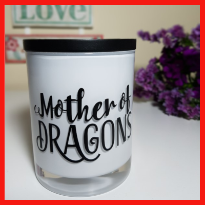 Soy Wax Candle - Amber Grove - Mother of Dragons