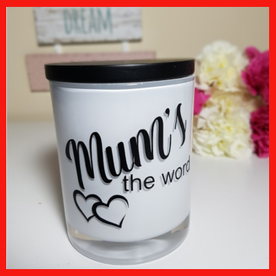 Gifts Actually - Amber Grove Soy Wax Candle - Mum's the word