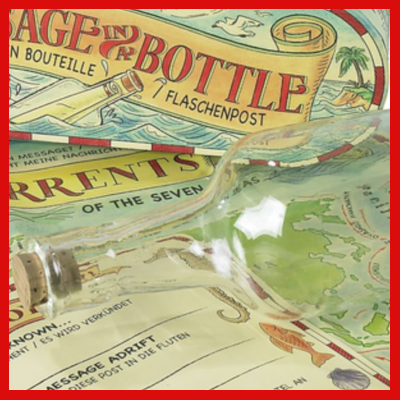 Gifts Actually - Message in a Bottle - Craft & Educational - detail view