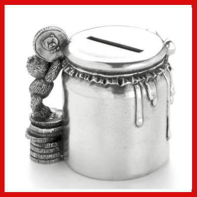 Gifts Actually - Royal Selangor Pewter - Money Jar (Coin Box)