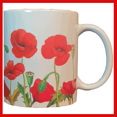 Gifts Actually - Mug - Poppy design