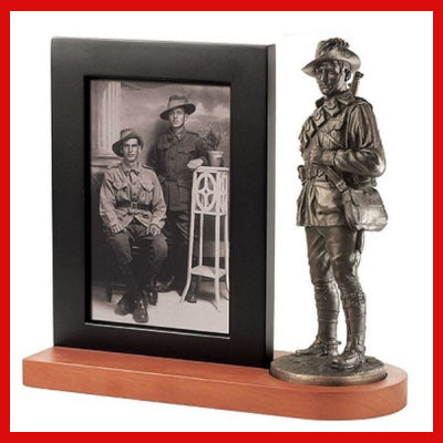 Gifts Actually - Naked Army ALH Figurine with Photo Frame
