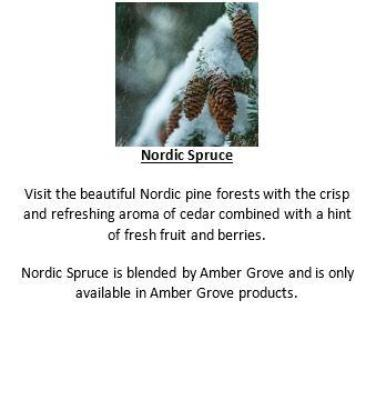 Gifts Actually - Soy Wax Canlde - Amber Grove - Tree (Blk) - Nordic Spruce