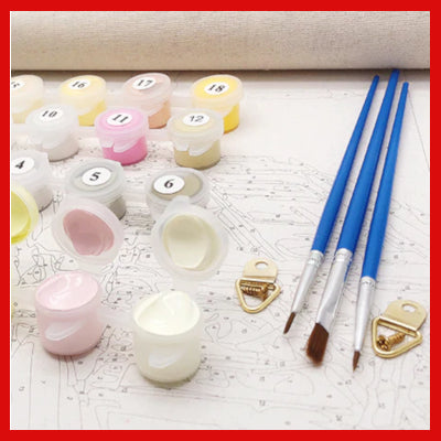 Gifts Actually - Paint By Number - DYI paniting Kits