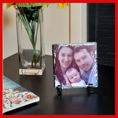Gifts Actually - Photo Slate / Personalised Photo Slate