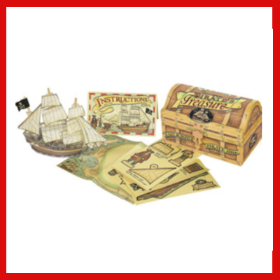 Gifts Actually - Pirates Treasure Chest - Craft & Educational