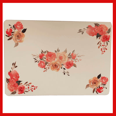 Gifts Actually - Placemat - Floral Collection - Rose design