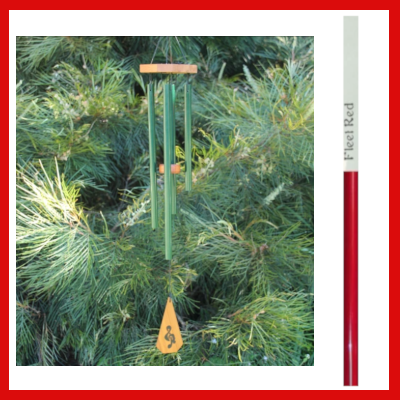 Gifts Actually - Harmony Windchime - Australia Chime - Fleet Red