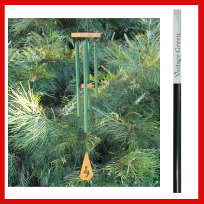 Gifts Actually - Harmony Windchime - Australia Chime - Vintage Green