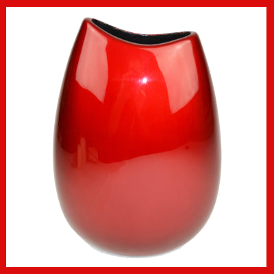 Gifts Actually - Lacquered Vase - Red Range (Medium - Slim)