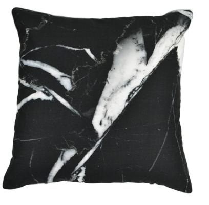 Gifts Actually - Rovan Cushion - Black Marble