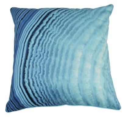 Gifts Actually - Rovan Cushion - Blue Agate (1)
