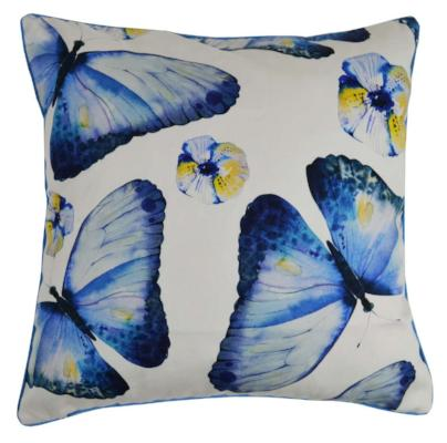 Gifts Actually - Rovan Cushion - Blue Butterflies
