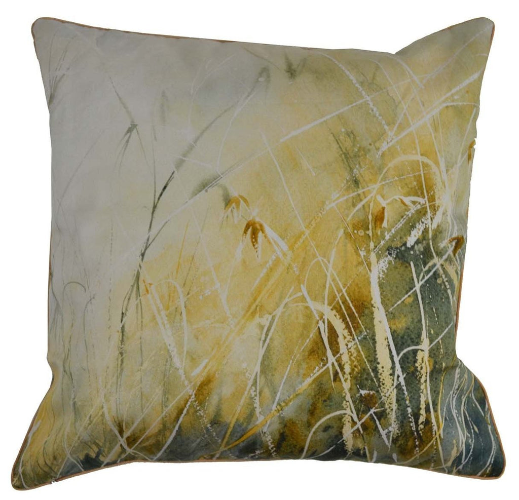 Gifts Actually - Rovan Cushion - Brown Grass
