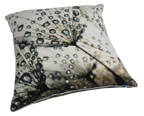 Gifts Actually - Rovan Cushion - Dandelions and Dew Drops