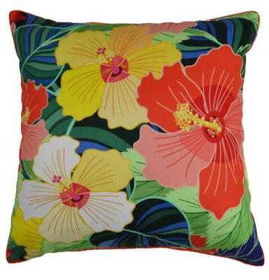 Gifts Actually - Rovan Cushion - Hibiscus