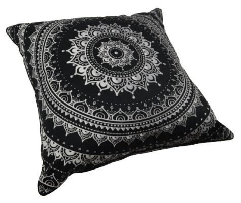 Gifts Actually - Rovan Cushion - Mandala Black
