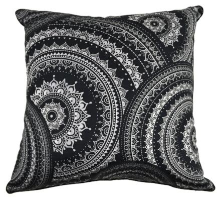 Gifts Actually - Rovan Cushion - Mandala Black 2