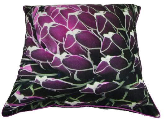 Gifts Actually - Rovan Cushion - Purple Flowers