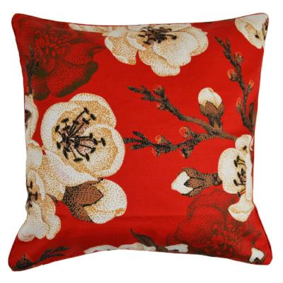 Gifts Actually - Rovan Cushion - Red Cherry Blossom