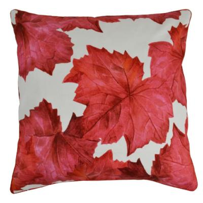 Gifts Actually - Rovan Cushion - Red Maple Leaves