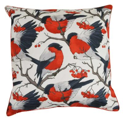 Gifts Actually - Rovan Cushion - Red Robins