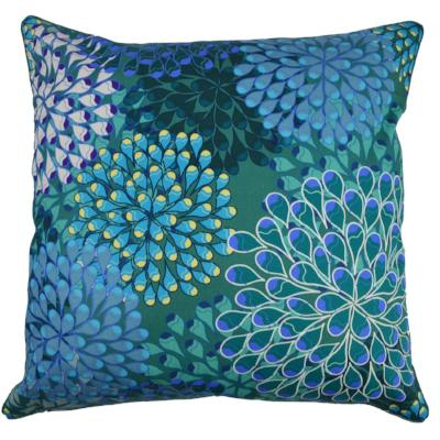 Gifts Actually - Rovan Cushion - Blue Abstract