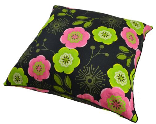 Gifts Actually - Rovan Cushion - Green & Pink Floral
