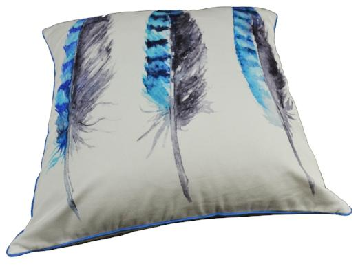 Gifts Actually - Rovan Cushion - Three Feathers